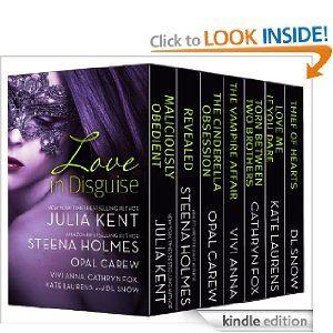 Cheap romance novels-- seven full books for $0.99!