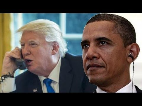 Obama Wiretapped Trump Phone Before Election?