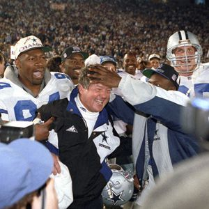 Jimmy Johnson-coach of the Cowboy team I grew up to know!