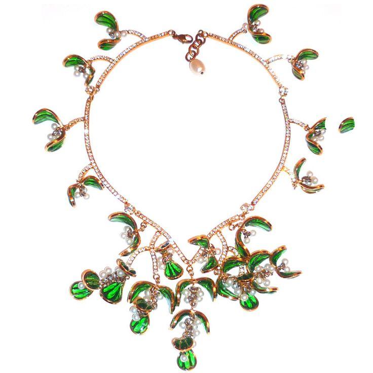 Top 514 best Gripoix images on Pinterest   Vintage jewelry, Ancient  TU72
