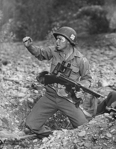Audie Murphy Most decorated soldier of WWII and most decorated U.S. Soldier in history.