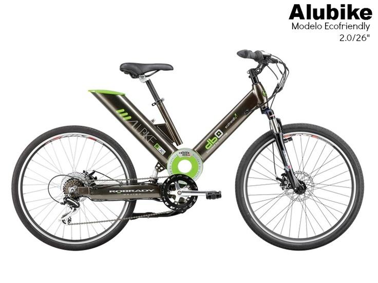 "Bicicleta Alubike Bicicleta urbana de pedaleo asistido  modelo Ecofriendly 2.0/26"" https://www.facebook.com/Alubike #Bikes #bicicletas #Alubike"