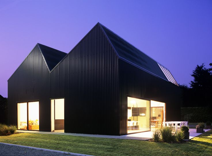 Industrial Home In Suburban Belgium Trends Magazine Family Houses And Architecture
