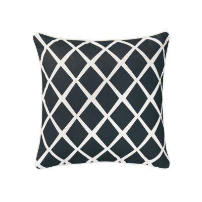 Black Diamond Throw Pillow| Serena & Lily: Pillows Covers, Diamonds Pillows, Living Rooms, Accent Pillows, Master Bedrooms, Black Diamonds, Throw Pillows, Diamonds Throw, Coral Diamonds