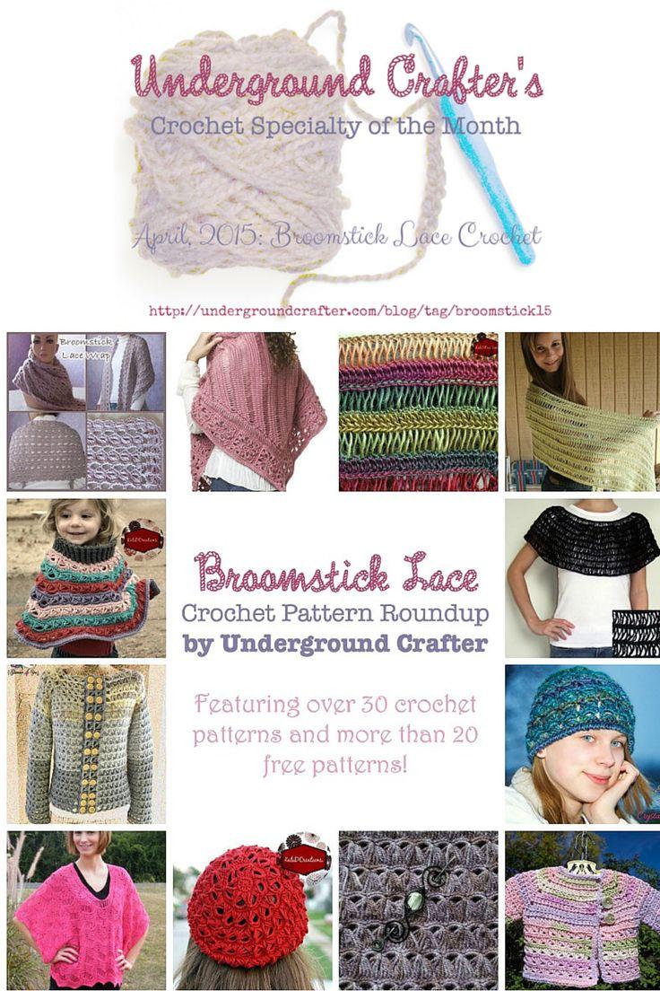 121 best Broomstick Lace Crochet images on Pinterest | Crochet ...