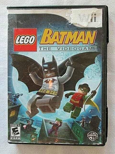 LEGO Batman: The Videogame (Nintendo Wii, 2008) # ...