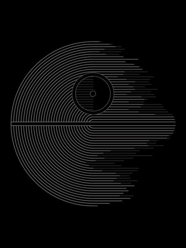 Death Star #art #design #starwars