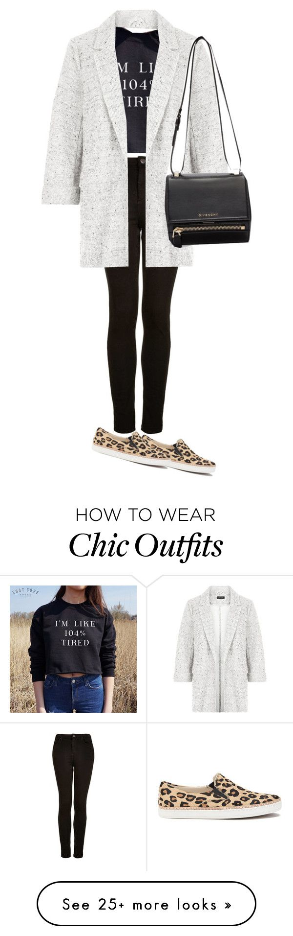 """""""Casual chic"""" by explorer-14732036237 on Polyvore featuring Topshop, New Look, UGG Australia and Givenchy"""