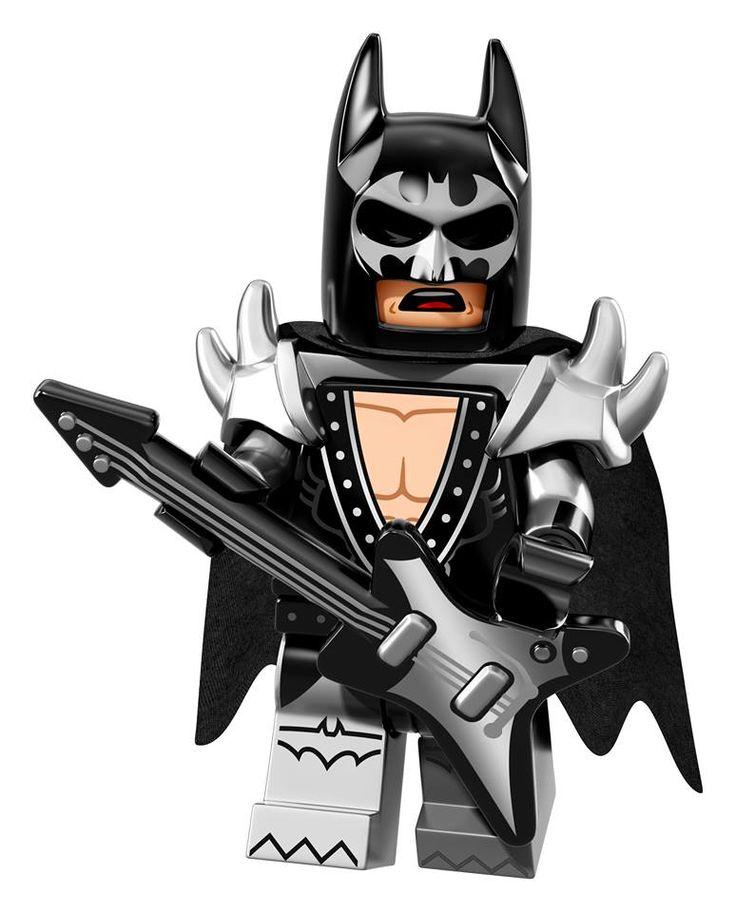 NEW LEGO Minifigure collectable series announced - The LEGO Batman Movie  - Glam Metal Batman
