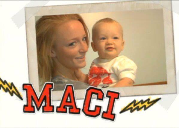 Teen Mom Season 1 Maci Bookout #teen #mom #teenmom #maci #bookout #macibookout #mtv #16andpregnant