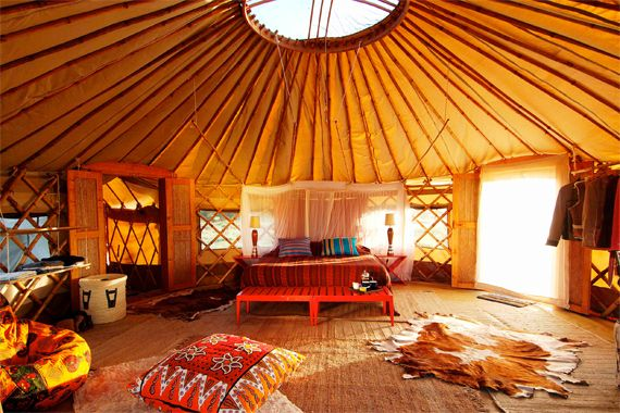 36 best yurts images on pinterest dorm rooms yurts and for Yurt interior designs