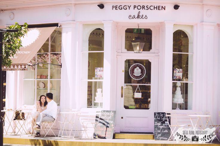 Peggy Porschen & Dulwich Park engagement