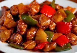 Свинина с овощами по - китайски.