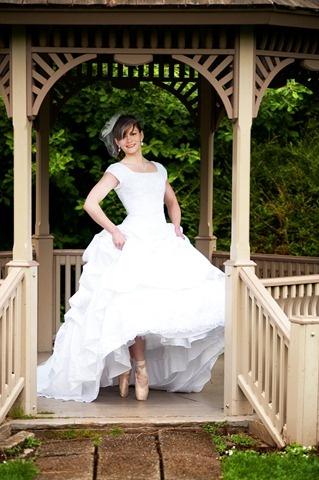 Beautiful ballet wedding dress