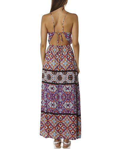 Minkpink | turkish delight womens maxi dress - multi | $84.99