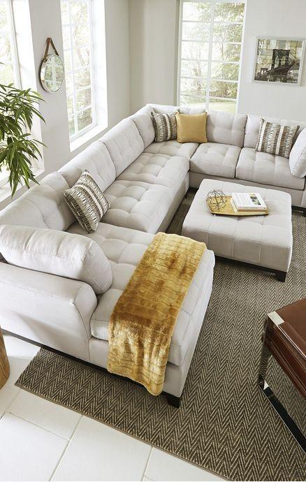 30+ Sectional Sofa Ideas For Cozy Living Room Deco…