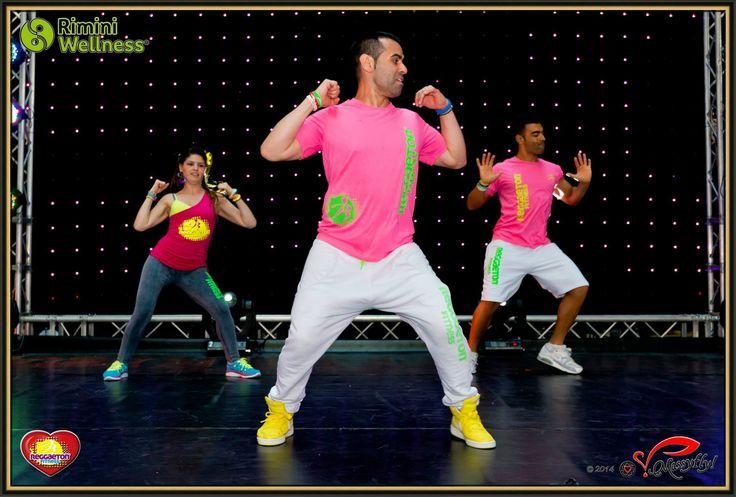 www.reggaetonfitness.it a Rimini Wellness 2014