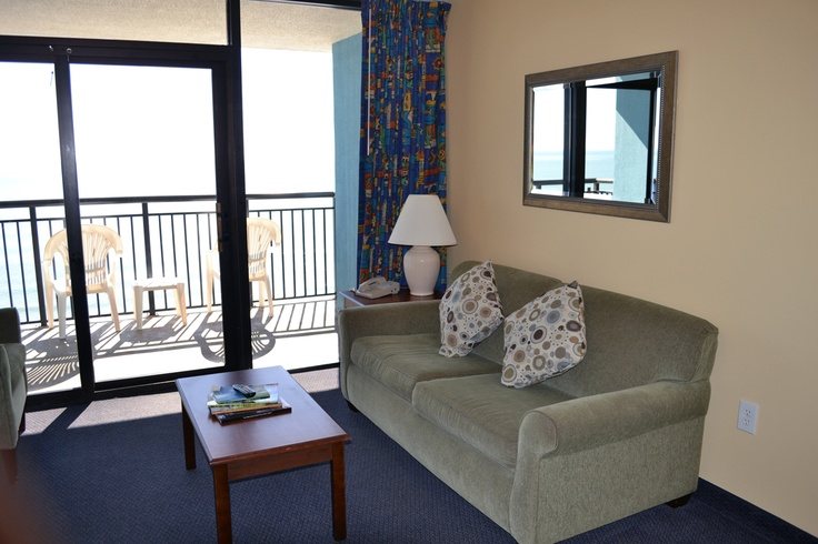 Our Myrtle Beach oceanfront lodging has units with beautiful panoramic views!