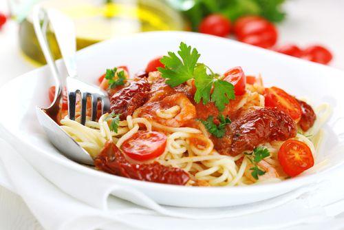Špagety se sušenými rajčaty – COOP Club