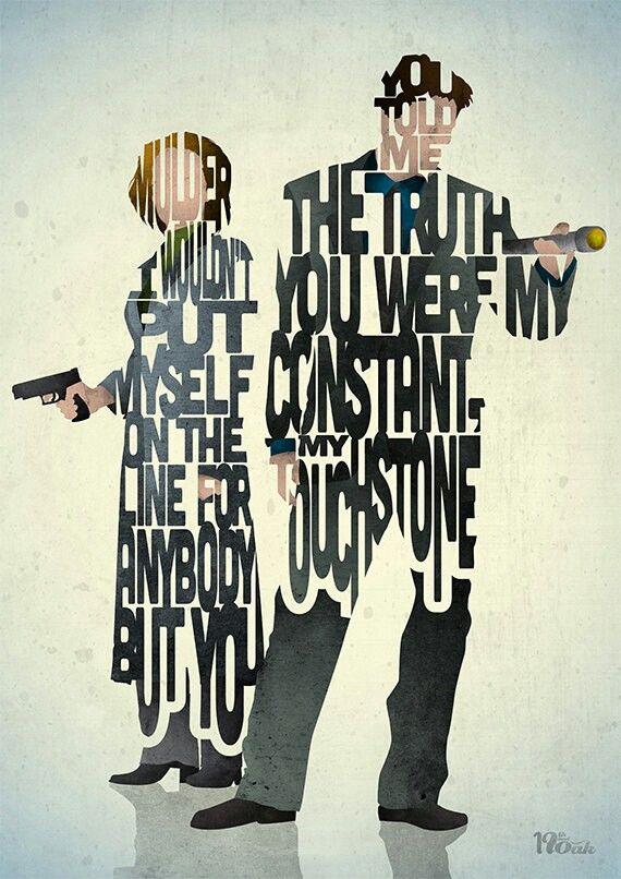 X-Files love.