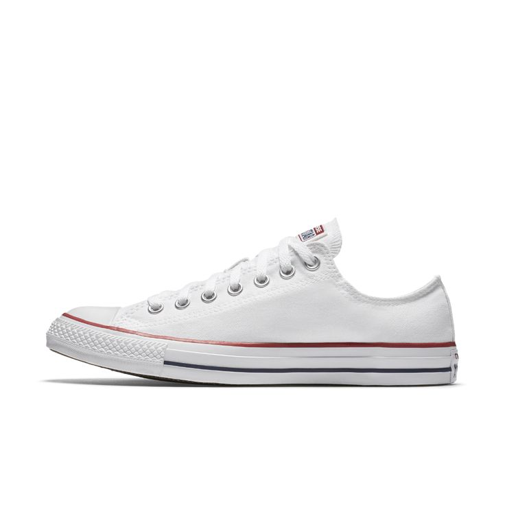 Converse Chuck Taylor All Star Low Top Shoe Size 6 (White)