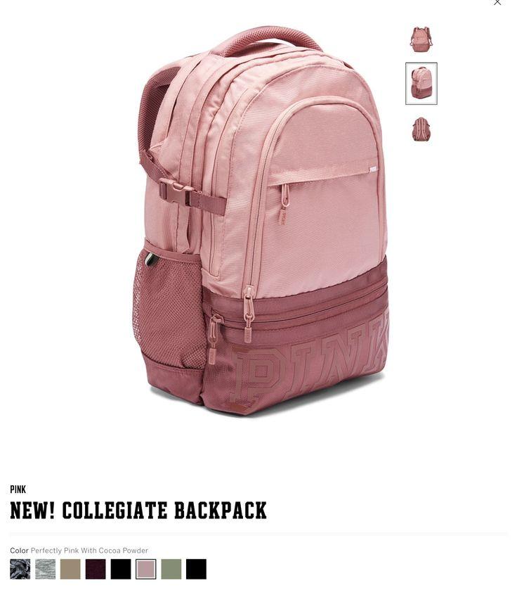 NEW! Victoria's Secret PINK backpack 2017.