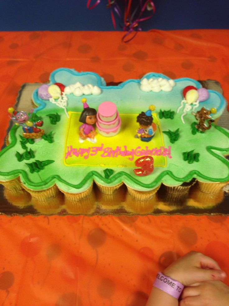 Dora Diego Pull Apart Cake From Publix Cupcake Cake