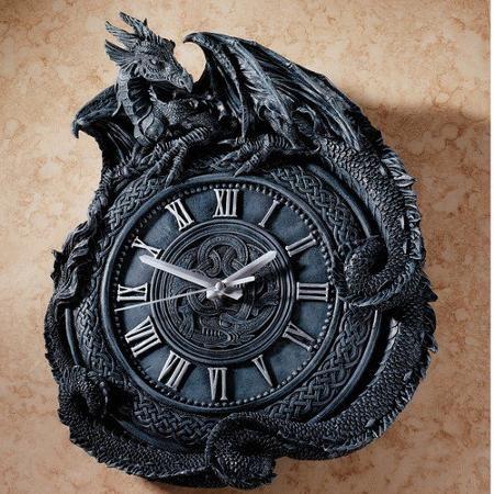 Design Toscano Penhurst Dragon Wall Clock