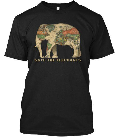 #elephant #elephants #savetheelephants #saveelephants #elephantlovers #iloveelephants #elephantshirts #elephantstee #elephantstshirt