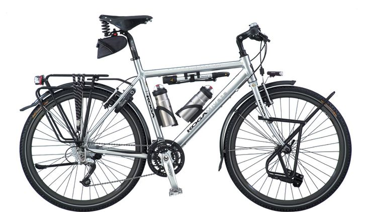 Koga World Traveler Touring Bicycle. Because the gas is going to run out, and walking is for suckers.