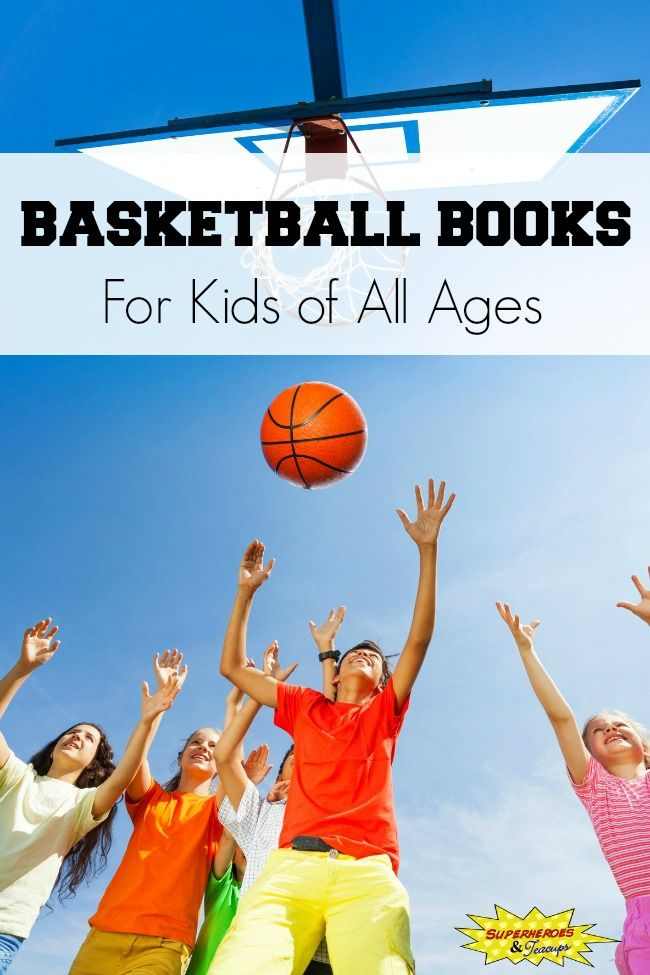 Basketball Books for Kids of All Ages