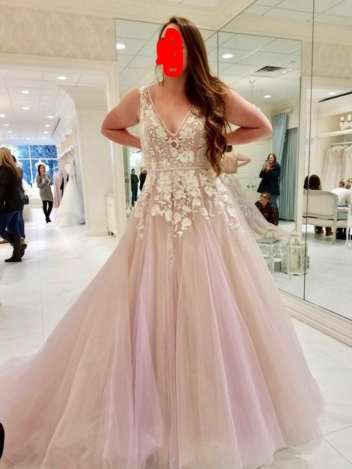 Image result for nontraditional wedding dress pink