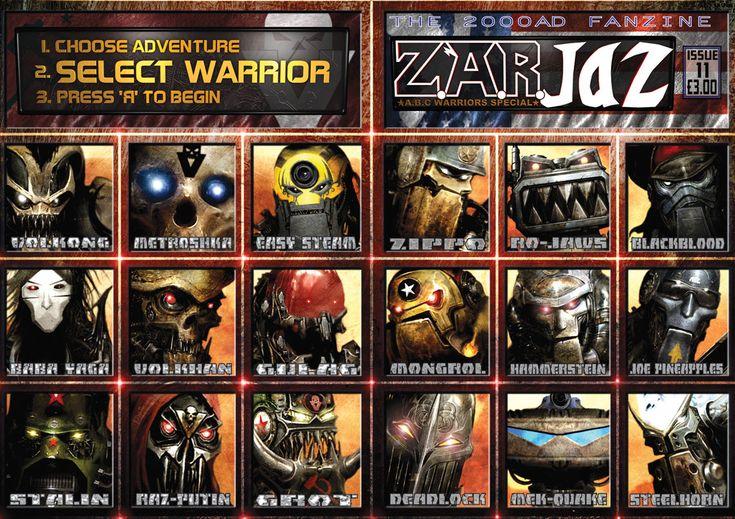 ABC Warriors. Really liked Deadlock, Blackblood, Joe Pineapples and Mongrol
