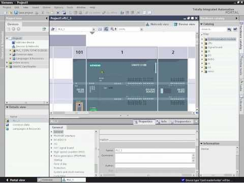 ▶ Siemens SIMATIC S7-1200 Part 1 - Getting Started - YouTube
