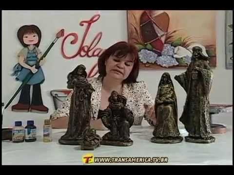 TV Transamérica - Pintura de envelhecimento em gesso