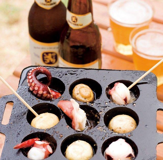 野外料理の達人が教える ワンバーナーで作るお手軽レシピ~おつまみ編http://www.bepal.net/bbq/outdoor-cooking/682