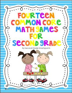 14 Fabulous Common Core Math Games for 2nd Grade $
