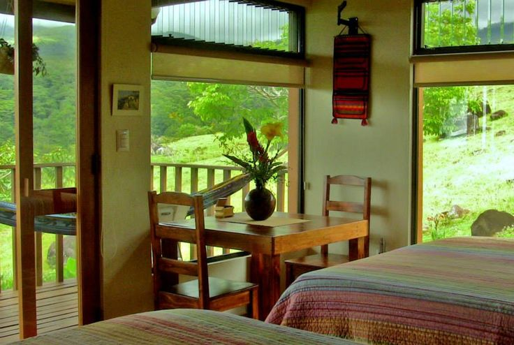 The Talamanca cabin is named after the Talamanca mountain range home of the largest park in central America, the La Amistad International Park.The Talamanca cabin has views mainly toward the Talamanca mountain range which hosts the La Amistad International Park.