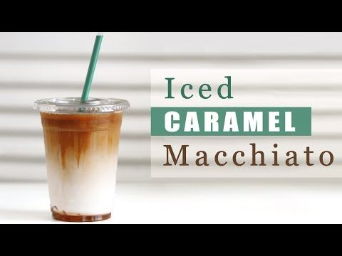How to Make Starbucks Iced Caramel Macchiato [Copycat Recipe] | Eugenie Kitchen