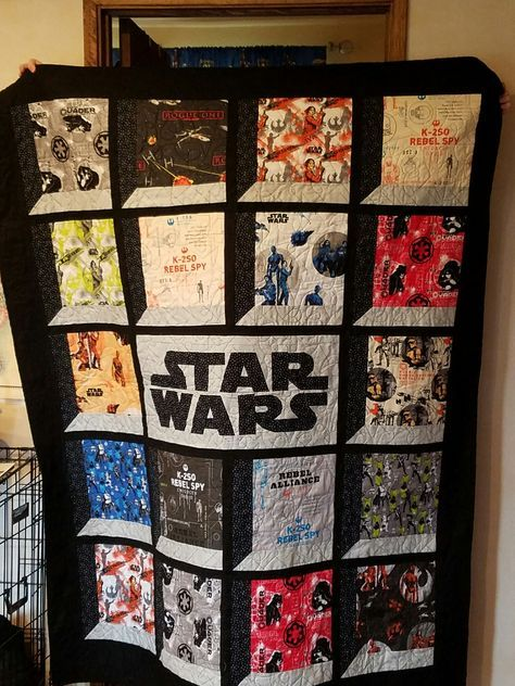 Pin By Kathy Rigol On Quilting Quilts Star Wars Quilt Quilt Patterns
