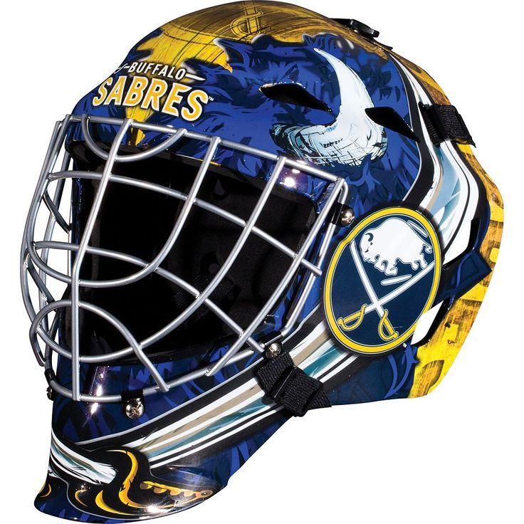 Franklin Youth Buffalo Sabres GFM 1500 Street Hockey Goalie Face Mask, Multicolor