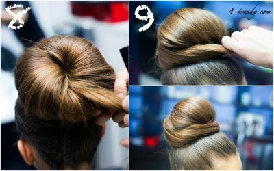 Прическа Пучок: на Длинные, Средние, Короткие Волосы + 160 ...