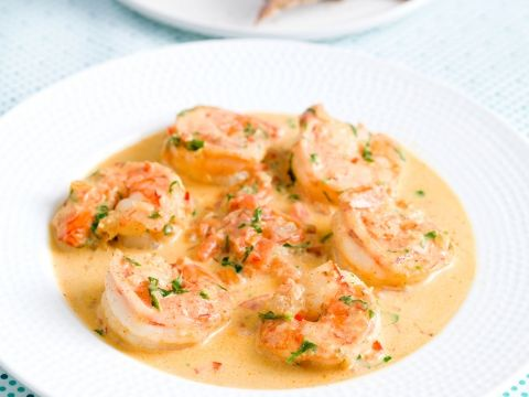 Scampis, sauce crème-tomate à la diable - Cuisine et Recettes - Recette - Femmes d'Aujourd'hui Délices