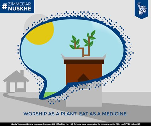 Tulsi doesn't just make wishes come true. Eat it on a regular basis too. #ZimmedarNuskhe
