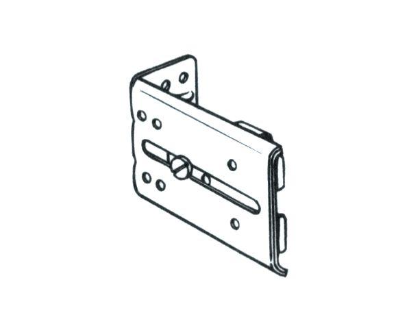 Graber 2 1 4 4 1 4 Projection Bracket For All Graber Traverse