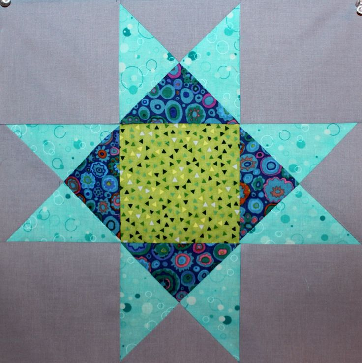 #Ohio Star destined for Baby Boy Quilt