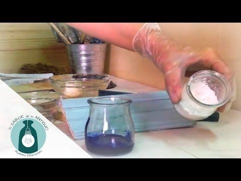 CÓMO HACER PÁTINA TRANSLUCIDA CON COLOR PARA TERMINACIONES - TRANSLUCENT COLOR WITH PATINA - YouTube