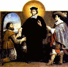 Peinture de X... Localisation : évêché de Saint-Brieuc, Côtes d'Armor