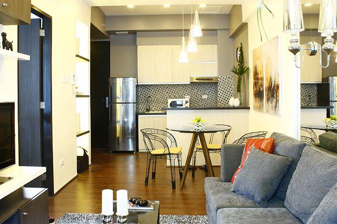 Customized pieces for a 50sqm condo in manila beautiful - Small condo interior design philippines ...
