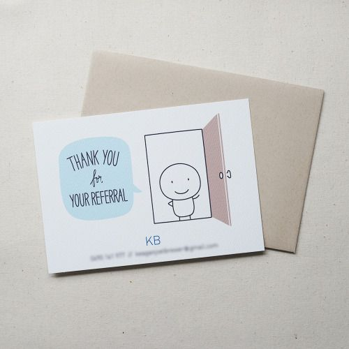Thank You cards for KB